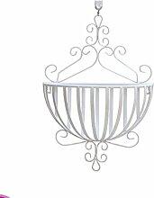 XUEWENZHE Blumenständer Europäische - Stil Eisen Hängende Blumentöpfe Regal Plant Stand Wohnzimmer Balkon Hanging Flower Rack Verschiedene Gartenregal ( farbe : E )