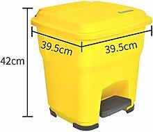XUEYAN Volltonfarbe Kunststoff Mülleimer, 30L /