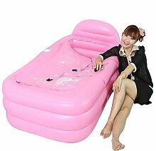 Xufei Aufblasbare Badewanne Faltbare Badewanne