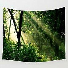 XULONG Tapisserie Für Die Wanddekoration Wald