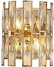 XUMI Kristall Wandleuchten, Moderne Wandlampe Gold