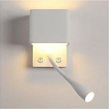 XUMI Wandlampe, Nachttischlampe, Leselampe Mit 3W,