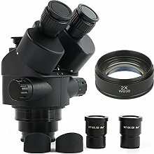 XUSHEN-HU Black 7x-45X 3.5x-90X