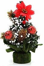Xuxuou Mini Weihnachtsbaum Tannenbaum Weihnachts