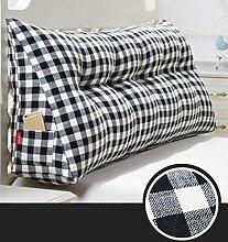 XWG Back Kissen / Abnehmbare Rückenlehne / Large Bett Rückenlehne / Bedside Kissen Taille Kissen / Soft Kissen Kissen ( farbe : 3# , größe : 150cm )