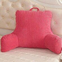 XWG Große dreieckigen Kissen Kissen Sofa Armlehne Stuhl zurück Büro Nacht Kissen Taille Kissen schwangere Frauen Kissen ( Farbe : C )