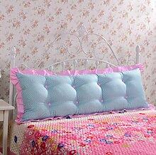 XWG Kissen / Doppel Cotton Big Head Kissen Sofakissen Rückenlehne Bett Großes Kissen / Bett Rückenkissen ( farbe : 3# , größe : 1.2cm )