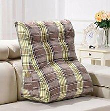 XWG Kissen / Dreieck Kissen / Doppelbett weichen Pad / Bett Rückenlehne Kissen / abnehmbare waschbar Kissen ( farbe : 2# , größe : 55*60cm )