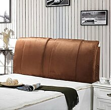 XWG Kissen / herausnehmbares waschbares Bett große Kissen / Sofa zurück Pad ( farbe : 1# , größe : 120*60cn )
