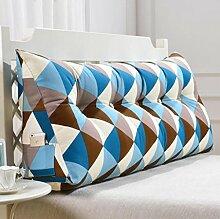 XWG Kissen / Rückenkissen / Sof Dreieck-Kissen / doppeltes Bett-weiche Tasche / Bett großes Kissen / abnehmbares waschbares rückseitiges Kissen ( farbe : 1# , größe : 150cm )
