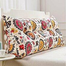 XWG Kissen Rückenlehne / Dreieck Kissen / Doppelbett weichen Tasche Kissen / Bett zurück / abnehmbar waschbar Kissen ( farbe : 1# , größe : 150cm )