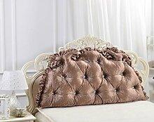 XWG Kissen Rückenlehne / Europäische Doppelnacht Kissen / Bett Großes Kissen / Bett Rückenpolster / Nackenschutz Pillow Pillow / Rückenkissen ( farbe : 1# , größe : 150*75cm )