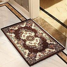 XWG Küche Bodenmatte / Fußmatte / Eingang Fuß-Pad / Badezimmer rutschfeste Matte / European-style Hause pad / Benutzerdefinierte mat / Tür pad / Teppich ( farbe : 1# , größe : 90*140cm )