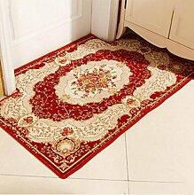 XWG Küche Bodenmatte / Im europäischen Stil Türmatte / Eingang Fuß-Pad / Badezimmer rutschfeste Matte / European-style Hause pad / Benutzerdefinierte mat / Tür pad / Teppich ( farbe : 5# , größe : 90*140cm )