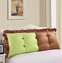 XWG Rückenlehne Kissen / Bett Kissen / Bedside Kissen / Bett Rückenlehne Pad / Pure White Lady Kissen / Large Rückenlehne Kissen ( farbe : 3# , größe : 1.5cm )