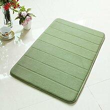 XWG Teppich/ Badezimmer absorbierende Matte / Füße / Kitchen mat / Lange Badezimmermatte / Rutschmatte / Türmatten ( farbe : 5# , größe : 50*80CM )