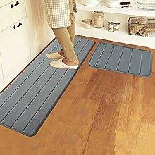 XWG Teppich/ Badezimmer absorbierende Matte / Füße / Kitchen mat / Lange Badezimmermatte / Rutschmatte / Türmatten ( farbe : 4# , größe : 50*120cm )