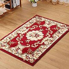 XWG Teppich/ Fashion Bodenmatte Continental Schneid Motiv Bodenmatte Wohnzimmer Bodenmatte Eingangstür Bodenmatte Osmanen Schlafzimmer Bett Decke Fußmatte / Küche Bodenmatte / Schlafzimmer Bodenmatte ( farbe : 3# , größe : 160*230CM )