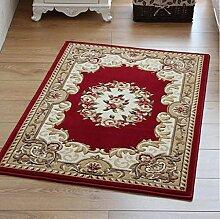 XWG Teppich/ Fashion Bodenmatte Continental Schneid Motiv Bodenmatte Wohnzimmer Bodenmatte Eingangstür Bodenmatte Osmanen Schlafzimmer Bett Decke Fußmatte / Küche Bodenmatte / Schlafzimmer Bodenmatte ( farbe : 1# , größe : 160*230CM )