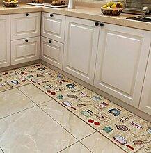 XWG Teppich/ Fußmatte / Tür lange Matte / Küche Bodenmatte / Fuß-Pad / Bodenmatte / Anti-Rutsch-Pads ( farbe : 3# , größe : 45*80CM+45*150CM )