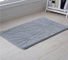 XWG Teppich/ Hochwertige Badezimmermatte / Tür Cengceng Matte / Badezimmer Matte / Küche Bodenmatte / Schlafzimmer Matte / Absorbent Matten / Fußmatte ( farbe : 1# , größe : 40*120cm )