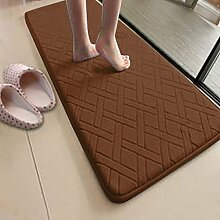 XWG Teppich/ Küche Bodenmatte Streifen / Washroom Fußmatte / Badezimmer absorbierenden rutschfeste Matte Kind / Sliding Bodenmatte / Große Badewanne eine Matte ( farbe : 10# , größe : 50*120CM )
