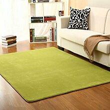 XWG Teppich Mat / Einfache Farbe Teppich / Wohnzimmer Teppich / Schlafzimmer Bedside Teppich / Badezimmer Teppich ( farbe : 6# , größe : 1.4*2cm )