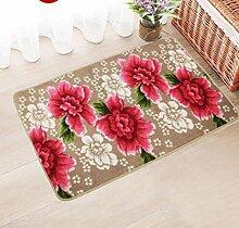 XWG Teppich-Matte / Schlafzimmer-Tür-Matten / Sofa Couchtisch Matte / Eingang Korridor Matte / Lange Nacht Matte / Eingang Veranda Eingang ( farbe : 4# , größe : 480*780mm )