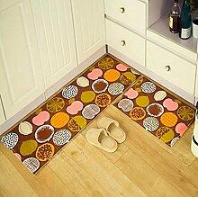 XWG Teppich-Matte / Tür Matratze / Wohnzimmer-Matte / Halle Absorbent Pad / Bad Anti-Rutsch-Matte / Lange Anti-Rutsch-Matte in der Küche ( farbe : 4# , größe : 40*60cm )