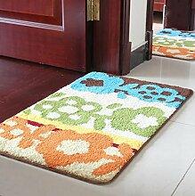 XWG Teppich/ Weiche, saugfähige rutschfeste Matten / Absorbent Bodenmatte / Fußmatte / Badezimmer Matte / Kitchen mat / Schlafzimmer Bodenmatte / Teppichboden Osmanen ( farbe : 3# , größe : 60*90CM )