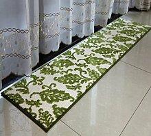 XWG Teppichmatte / Küche Bodenmatten Lange Teppich / Bedside maschinenwaschbar Fuss-Auflage / Tür Matte / Türmatten schwebendes Fenster Pad / Bad-Matte / Absorbent Anti-Rutsch-Matten ( farbe : 3# , größe : 45*180cm )