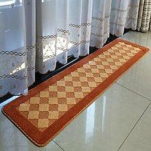 XWG Teppichmatte / Küche Bodenmatten Lange Teppich / Bedside maschinenwaschbar Fuss-Auflage / Tür Matte / Türmatten schwebendes Fenster Pad / Bad-Matte / Absorbent Anti-Rutsch-Matten ( farbe : 5# , größe : 45*180cm )