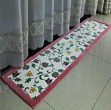XWG Teppichmatte / Küche Bodenmatten Lange Teppich / Bedside maschinenwaschbar Fuss-Auflage / Tür Matte / Türmatten schwebendes Fenster Pad / Bad-Matte / Absorbent Anti-Rutsch-Matten ( farbe : 1# , größe : 45*240cm )