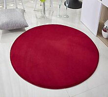 XWG Teppichmatte / Rund Teppich / Fitness Yoga / Cradle Computer Stuhl Teppich / Schöne Bettvorleger / Schlafzimmer Bett Teppichmatte / Für Teppich ( farbe : 4# , größe : 140cm )