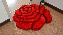 XWG Teppichmatte / Rund Teppich / Hängekorb Drehstuhl Teppich / Computer Stuhl Teppich / Rose Room Teppich / Wohnzimmer Nacht vorne Teppich / Hochzeit Hochzeit Raumteppich ( farbe : 7# , größe : 70cm )