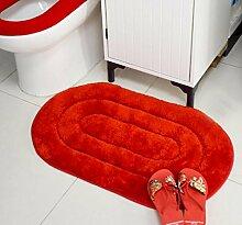 XWG Teppichmatte / Soft Anti-Rutsch-Pad / saugfähige Tür Matte / Türmatte / Wohnzimmer Teppich Matte / Schlafzimmer Teppich / Badezimmer Ma