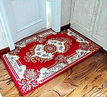 XWG Teppichmatte / verdickte in die Türmatte / Eingang saugfähige rutschfeste Matten / Wohnzimmerteppich Matte / Tür-zu-Tür-Matte / Schlafzimmer Matten Decke ( farbe : 3# , größe : 120*140cm )