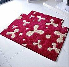 XWG Teppichmatte / verdickte in die Türmatte / Wohnzimmerteppich Matte / Tür-zu-Tür-Matte / Schlafzimmer Matten Decke Küche Fußballen ( farbe : 4# , größe : 120*160cm )