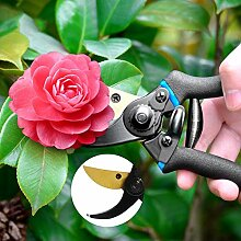 XWYGJ Garten Astschere Schere 65 Mangan-Stahlblatt