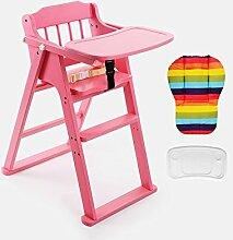 XWZ Massivholz Kinder Esszimmer Stuhl Baby Dinette Folding Kinder Esszimmer Stuhl Babystuhl Baby Esszimmerstuhl Verschiedene ( Farbe : A , größe : 1 )