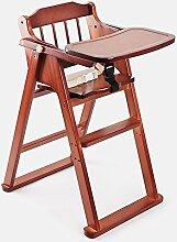 XWZ Massivholz Kinder Esszimmer Stuhl Baby Dinette Folding Kinder Esszimmer Stuhl Babystuhl Baby Esszimmerstuhl Verschiedene ( Farbe : B , größe : 2 )