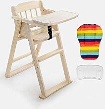 XWZ Massivholz Kinder Esszimmer Stuhl Baby Dinette Folding Kinder Esszimmer Stuhl Babystuhl Baby Esszimmerstuhl Verschiedene ( farbe : D , größe : 1 )