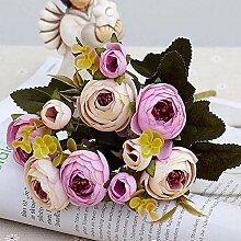 XWZYDR Künstliche Blume 10Heads / 1 Bündel Silk