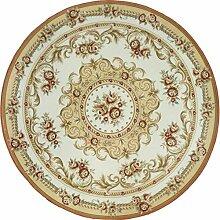 XX Feifei Round Carpet Retro Muster Rutschfeste