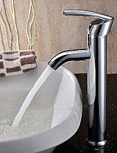 XX&GX Armaturen für Waschbecken - Arbeitsplatte Messing (Chrom)