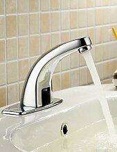 XX&GX Armaturen für Waschbecken - Zeitgenössisch - berühren / berührungslos Chrom)
