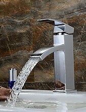 XX&GX Mittellage Einhand Ein Loch in Chrom Waschbecken Wasserhahn