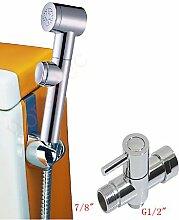 XX&GX Wand montiert einzigen Handgriff ein Loch in Chrom Waschbecken Wasserhahn