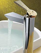XX&GX Waschbecken Wasserhahn Zeitgenössisch Chrom Messing Becken