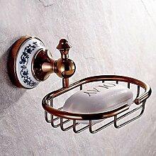 XX&GXM 2017 Neu Continental rose gold Kupfer Sanitärraum-accessoires Seife Seife Regal Halter Wandhalterung hoch(Küche zu Hause, Geschenke)